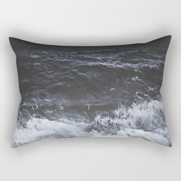 Lost in the sea Rectangular Pillow