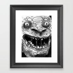 Rogues Gallery - Killer Croc Framed Art Print
