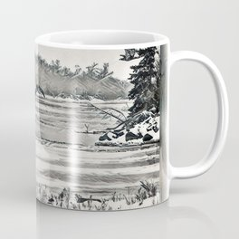 Winter Eagles Coffee Mug