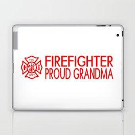 Firefighter: Proud Grandma (Florian Cross) Laptop & iPad Skin
