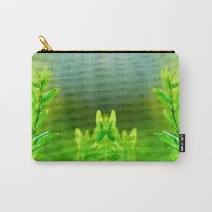 Green Harmony Carry-All Pouch