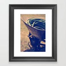 Yardwork Framed Art Print