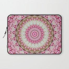 Pink Floral Mandala Laptop Sleeve