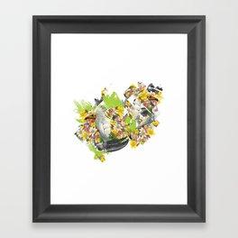 Terror Tropical 1 Framed Art Print
