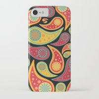 bohemian iPhone & iPod Cases featuring Bohemian Paisley  by Digi Treats 2