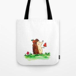 Howie the Hedgehog Tote Bag