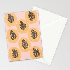 Papaya Print Stationery Cards