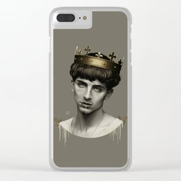 THE GOLDEN KING Clear iPhone Case