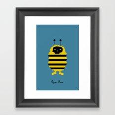 Roar. Buzz. Framed Art Print