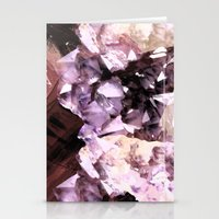 minerals Stationery Cards featuring Mira Minerals by lalaprints