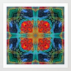 Mandala #5 Art Print