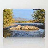 salt water iPad Cases featuring Salt River Arizona by Jonathon Mackowiak