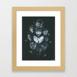 36 Chambers Framed Art Print