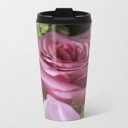 Rose Metal Travel Mug