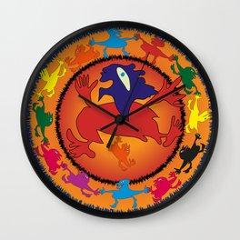 Ethnic dance Wall Clock