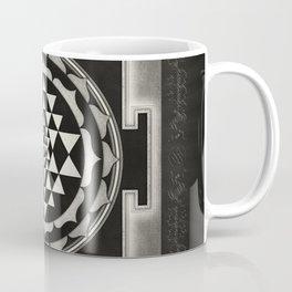 Sri Yantra XVII - Moon White Coffee Mug