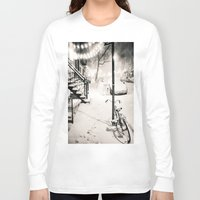 new york city Long Sleeve T-shirts featuring New York City by Vivienne Gucwa