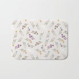 Tossed Wildflowers Bath Mat