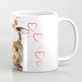 Yorkie Giraffe | Yorkies | Dogs | nb Coffee Mug