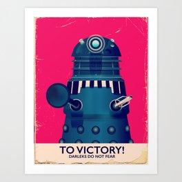 To Victory! Art Print