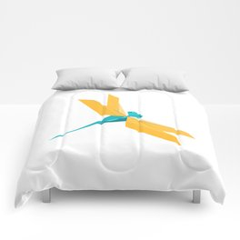 Origami Dragonfly Comforters