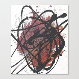 Beating Heart Canvas Print