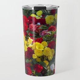 Begonias in Flower Travel Mug