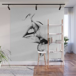 Kiss me today. Wall Mural