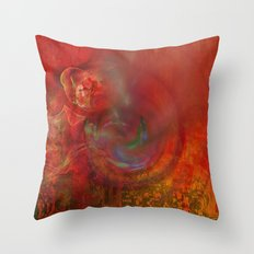 Irma storm Throw Pillow