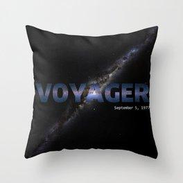 NASA Voyager Throw Pillow