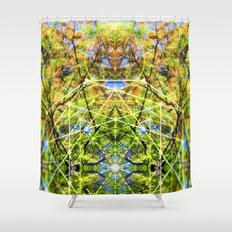 GeoBotanica V2 Shower Curtain