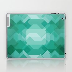 Emerald gem stone Laptop & iPad Skin