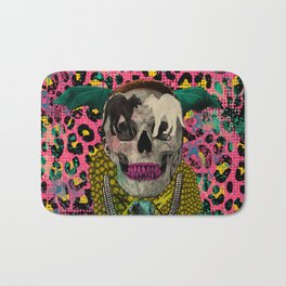 Skull & Cats Bath Mat
