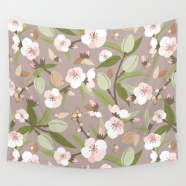 Almond orchard Wall Tapestry