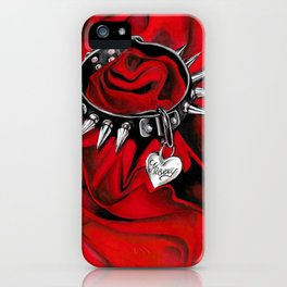 Misery is My Name iPhone Case