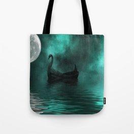Solar Swan Tote Bag