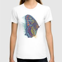 butterfly T-shirts featuring Butterfly Life Cycle by Rachel Caldwell