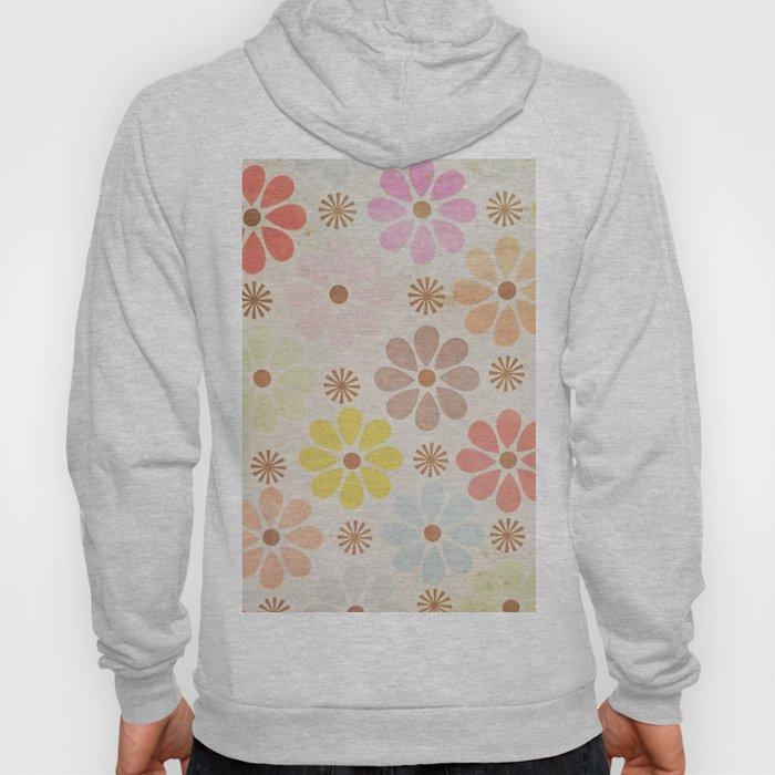 Flower Daisy Pattern Hoody