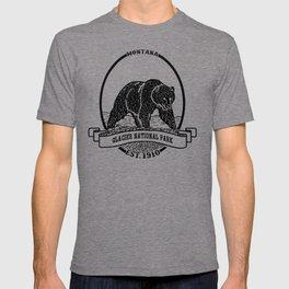 Glacier National Park Emblem T-shirt