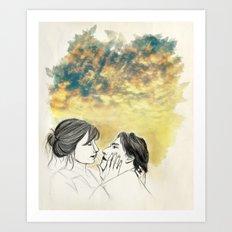 Pleasure Delayer Art Print