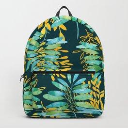 Golden Summer Leaves Backpack