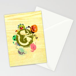 CARE - Love Our Earth Stationery Cards