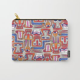 Sharp Pointy Teeth Carry-All Pouch