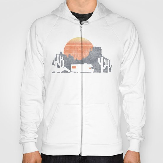 Trail of the dusty road Hoody
