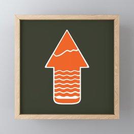 TAKE A H/KE Framed Mini Art Print