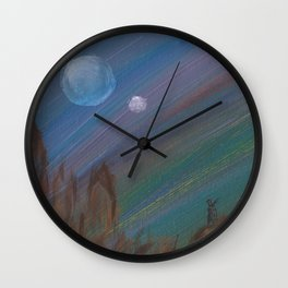 Hunting by the Light of the Traveler Wall Clock