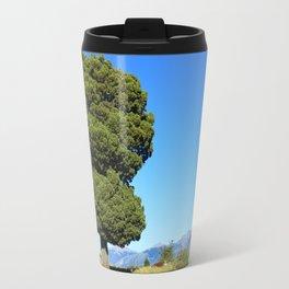 Big tree and patagonian landscape Travel Mug