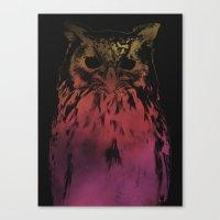 hedwig Canvas Prints featuring Hedwig by Erik Sandi Satresa