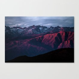 Red mountain 4 Canvas Print