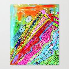 HAPPY WHEELS Canvas Print